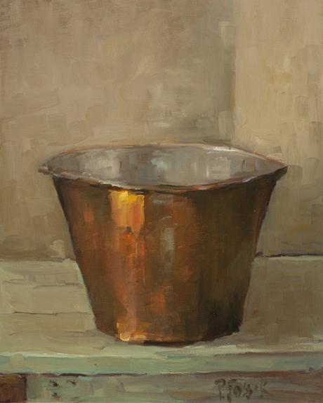 Copper Pan by Priscilla Fossek