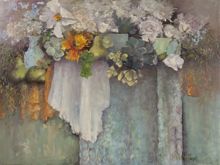 Tender is the Light, Spring Bouquet by Priscilla Fossek